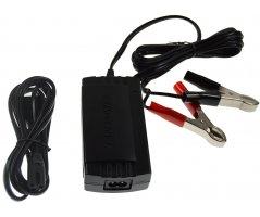 Oplader til blybatterier 2-trins 24V/0,8A