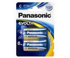 LR14/C Panasonic Alkaline batteri Evolta