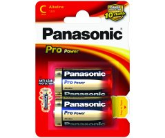 LR14/C  Pro Power Panasonic Alkaline 2-blisterpak