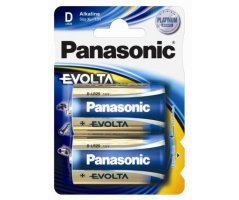 LR20/D Panasonic Alkaline batteri Evolta