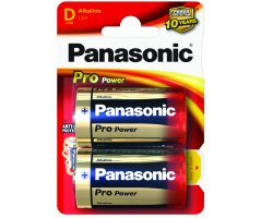 LR20/D Pro Power Panasonic Alkaline 2-blisterpak