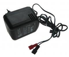 Oplader til blybatterier 6V/1,2A m/spadesko