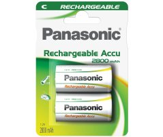 C/P14P Panasonic genopladelig 2800mAh