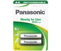 AA/P6E Panasonic genopladelig 1900mAh