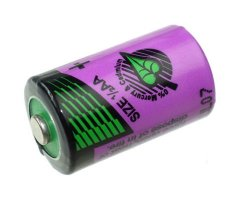 Size 1/2AA Tadiran 3,6V Lithium batteri