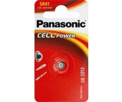 SR41 Sølvoxid batteri Panasonic V-392