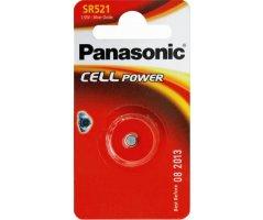 SR521 Sølvoxid Knapcelle batteri Panasonic