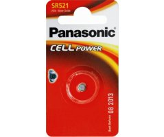 SR521 Panasonic battery sølvoxid 379/SR63