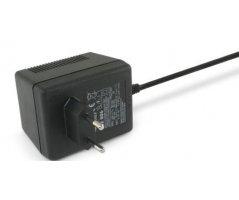 Blylader 230VAC 13,8v/600mA 6,3mm