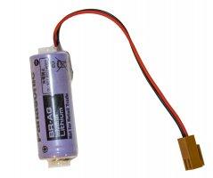 Lithium batteri ledning+stik+modstand