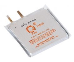 Fanso 3V lithium batteri 3000mAh ultra tynd