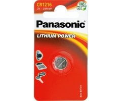 CR1216/1BP Lithium Knapcelle batteri Panasonic