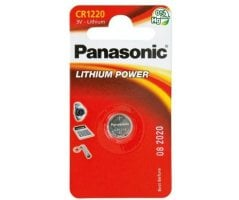 CR1220/1BP Lithium Knapcelle batteri Panasonic