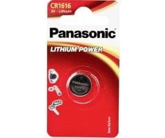 CR1616/1BP Lithium Knapcelle batteri Panasonic
