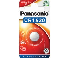 CR1620/1BP Lithium Knapcelle batteri Panasonic