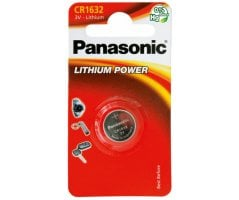 CR1632/1BP Lithium Knapcelle batteri Panasonic