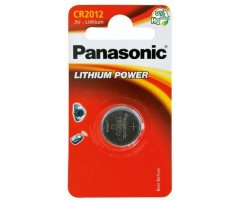 CR2012/1BP Lithium Knapcelle batteri Panasonic