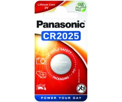 CR2025 Lithium Knapcelle batteri Panasonic