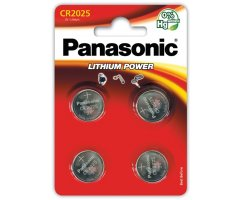 CR2025/4BP Lithium Panasonic Knapcelle batteri