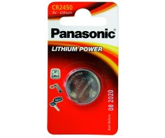 CR2450/1BP Lithium Knapcelle batteri Panasonic