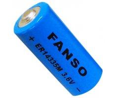 Fanso 3,6V lithium 2/3AA batteri 1350mAh LI-SOCL2