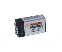 Fanso 9V lithium batterI 1200mAh