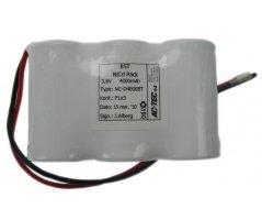 Ni-Cd Akkupack D 3,6V/4,5Ah Høj temp