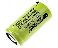 2/3AA Ni-MH genopladeligt batteri Flad top
