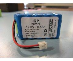 Batteripakke Hawk12V ledning+Jst EHR-2 stik