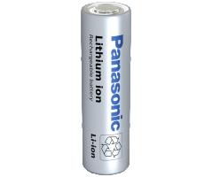 Cylindrisk Li-Ion Panasonic batteri NCR18650PF