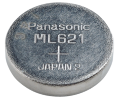 ML621S Panasonic Lithium knapcelle 6,8x2,1mm