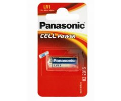 LR1/N Panasonic 1,5V Alkaline batteri 1stk.