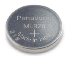ML920 Panasonic Lithium knapcelle 9,5x2,7mm