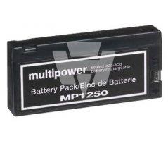 Blybatteri Multipower kort model MP1250