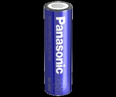 Panasonic NiMH AA batteri Flad Top BK-120AAW