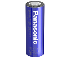 Panasonic NiMH A  batteri Flad Top BK-210A