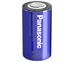 Panasonic NiMH SC batteri Flad Top