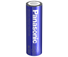 Panasonic NIMH AA batteri Flad Top