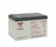 12V/12Ah Yuasa Blybatteri NP12-12
