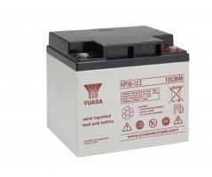 12V/38Ah Yuasa Blybatteri NP38-12I