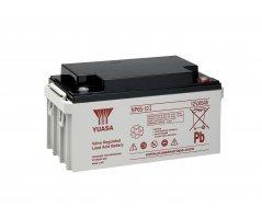12V/65Ah Yuasa Blybatteri NP65-12I