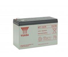 12V/7Ah Yuasa Blybatteri NP7-12LFR