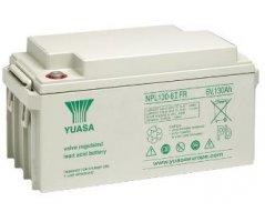 6V/130Ah Yuasa Blybatteri NPL130-6IFR