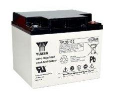 12V/38Ah Yuasa Blybatteri NPL38-12I
