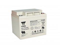 12V/38Ah Yuasa Blybatteri NPL38-12FR