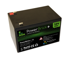 PowerBrick LiFePO4 batteri 12V/12Ah
