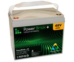 PowerBrick LiFePO4 batteri 48V/25Ah