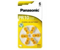 PR10HEP Panasonic batteri høreapparat 6 stk.
