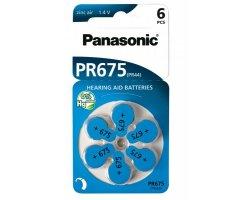PR675HEP Zink Air Panasonic Knapcelle batteri