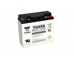 12V/22Ah Yuasa Blybatteri REC22-12I